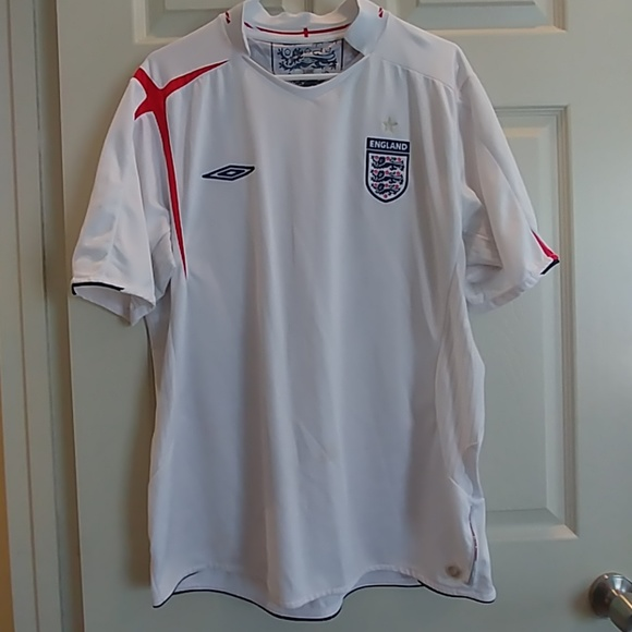 9176be5a Umbro Tops | Official England National Team Soccer Jersey | Poshmark